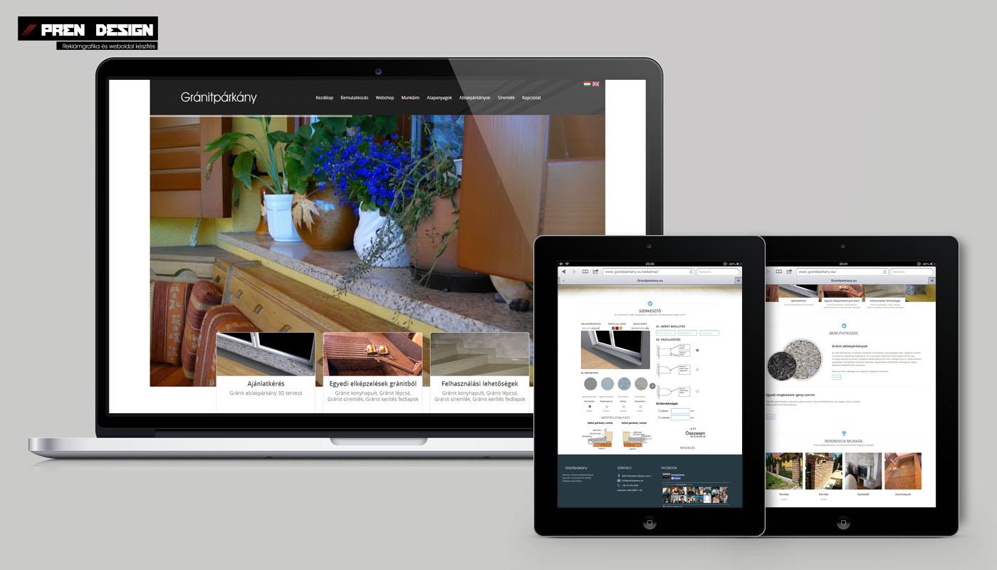Interaktív webáruház készítés