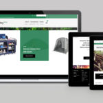 Kempingshop Webdesign