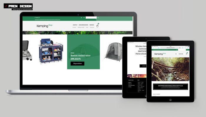 Webáruház készítés Szentendre