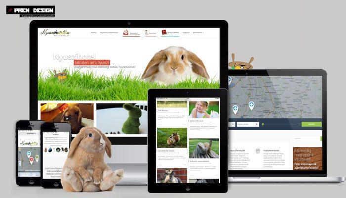 Közösségi weboldal készítés