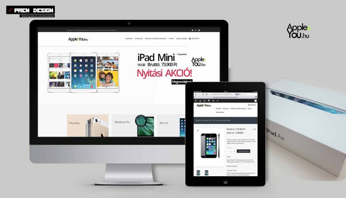 Apple4you.hu  Webáruház készítés Debrecen