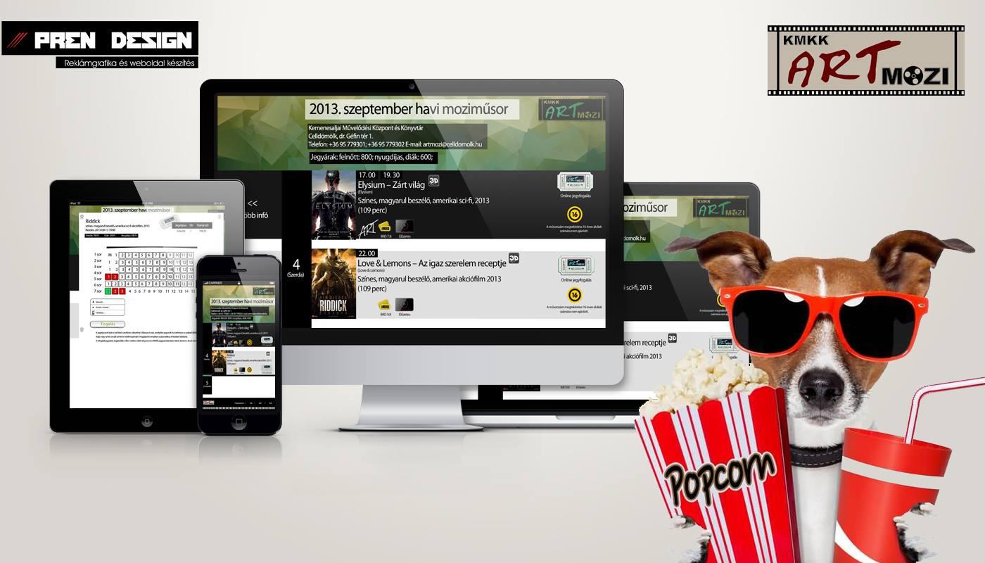 Weboldal felújítás és honlap készítés