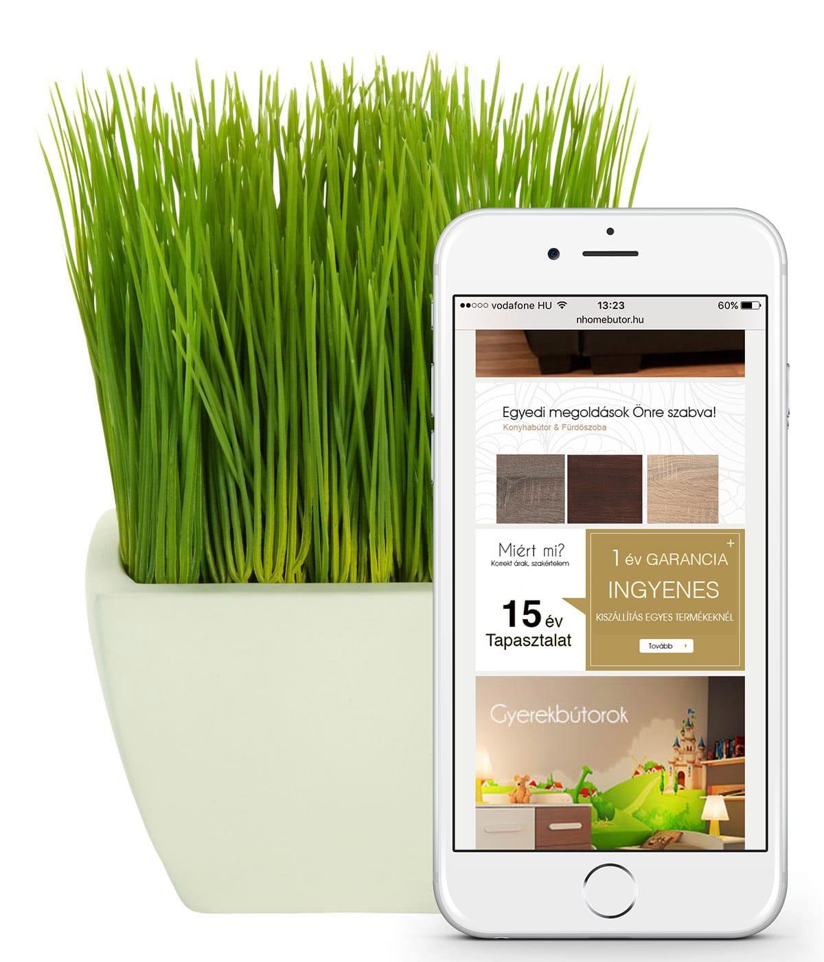 Ajánlatkérés weboldal készítés - Webshop készítés