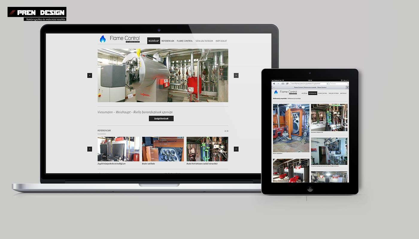 Új céges weblap készítés és weblap felújítás