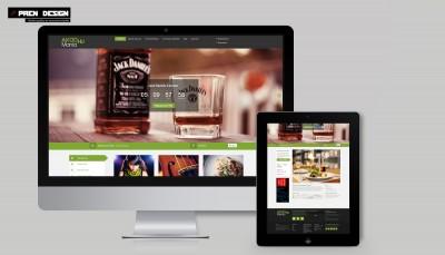 Kuponos weboldal készítés