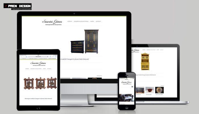 Letisztult weboldal készítés