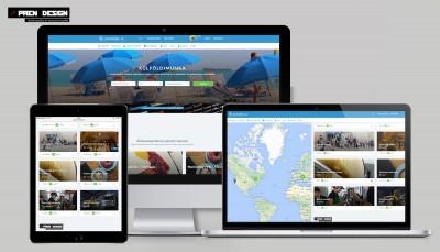Állásportál készítés – Egyszerű hírdetési weboldal készítés