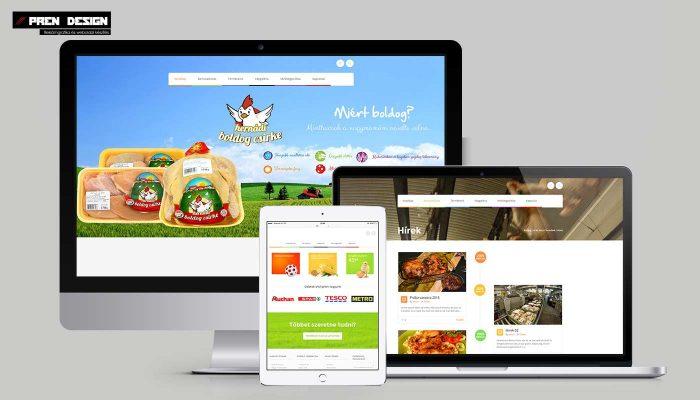 Weblapkészítés, Céges weboldal