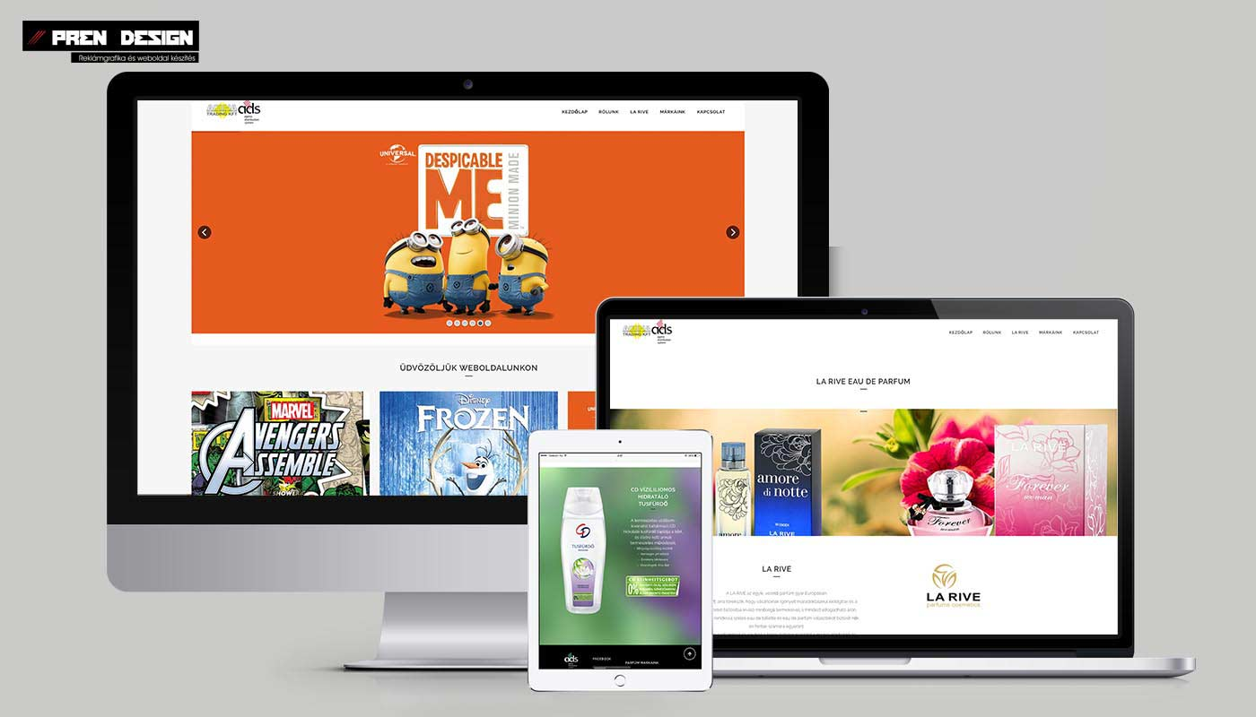 Webáruház készítés Nagykereskedések számára