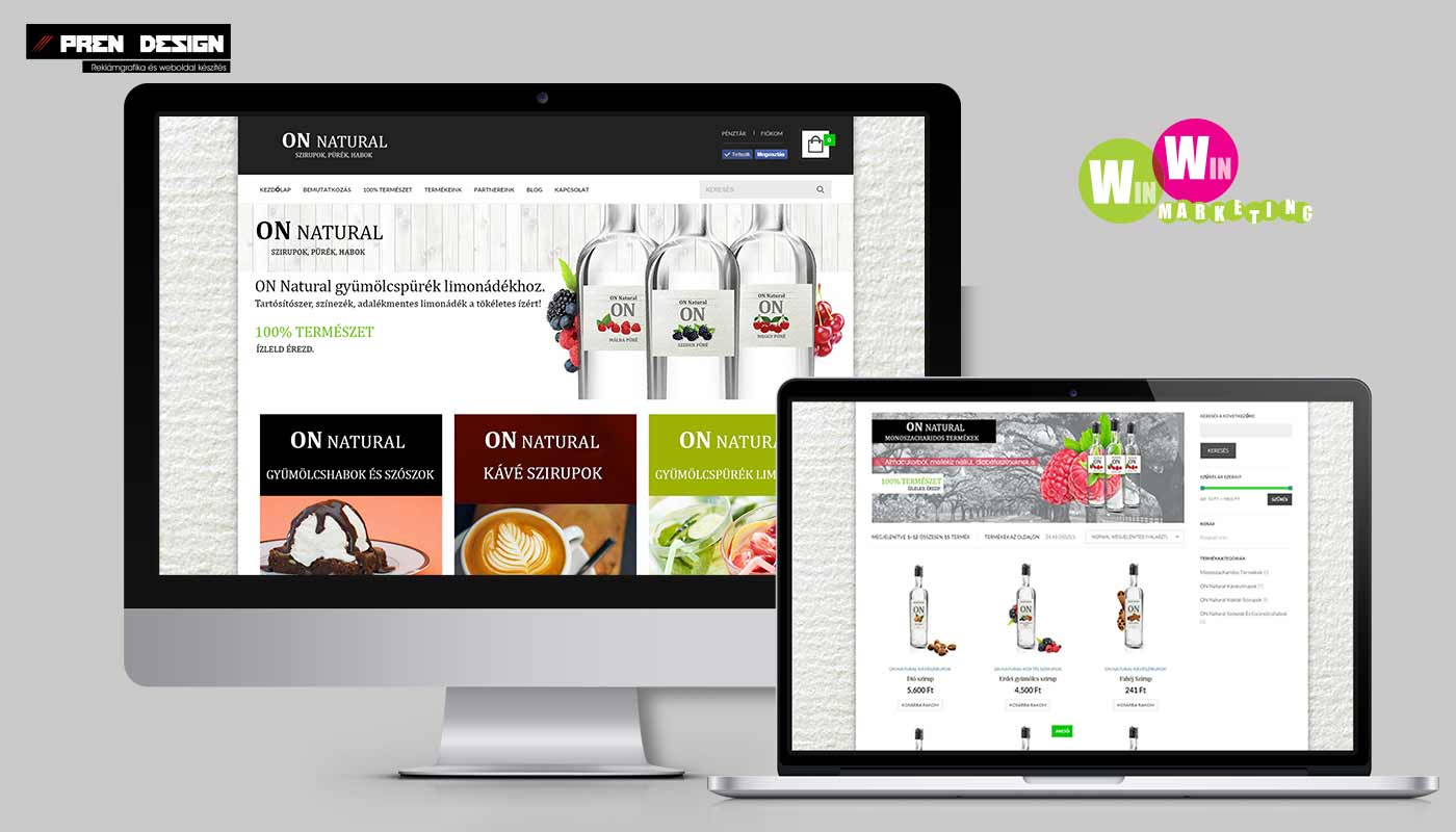 Webáruház készítés WordPress