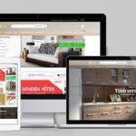 Webáruház készítés bútorüzlet számára