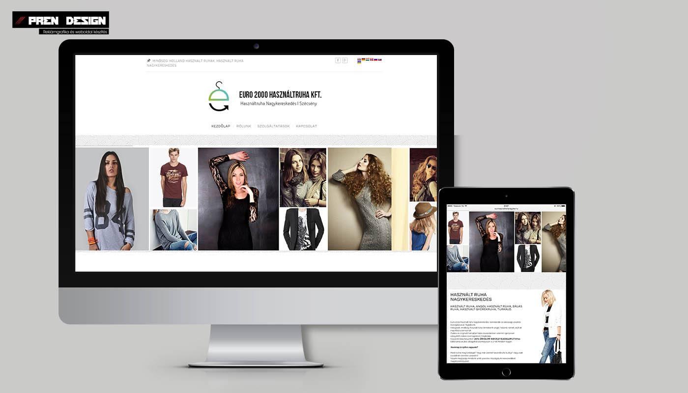 Weblap készítés Nagykereskedés