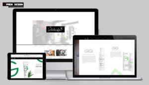 Kozmetikus weboldal