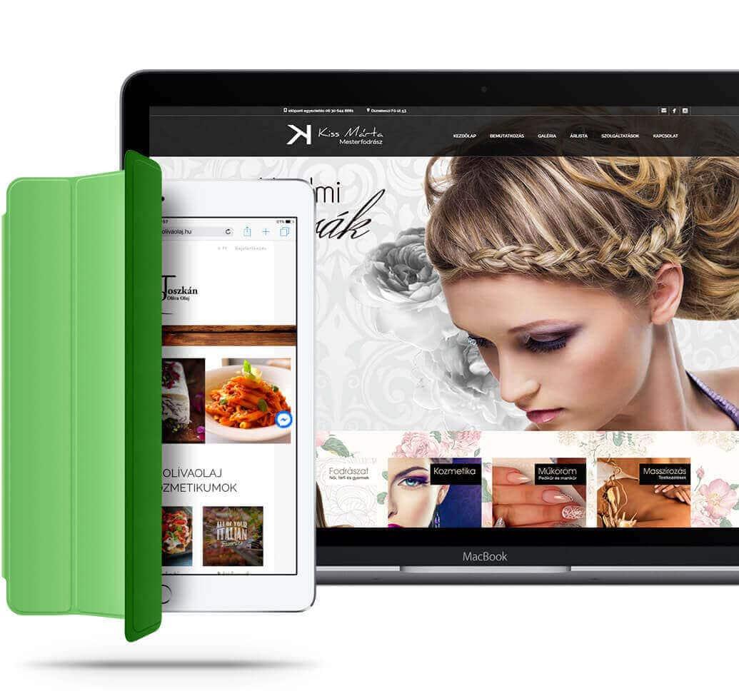 weboldal készítés - Pren Design