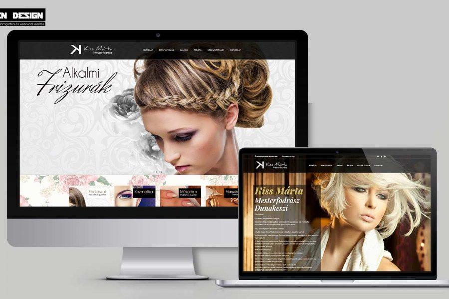 Kozmetikusoknak,műkörösöknek weboldal