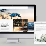 Profi céges weblap készítés modern minimalista