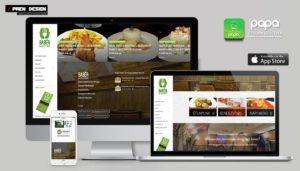 Étterem weboldal készítés