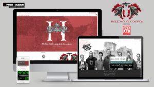 Weboldal készítés zenei fesztivál