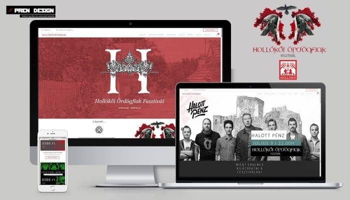 Weboldal készítés fesztivál