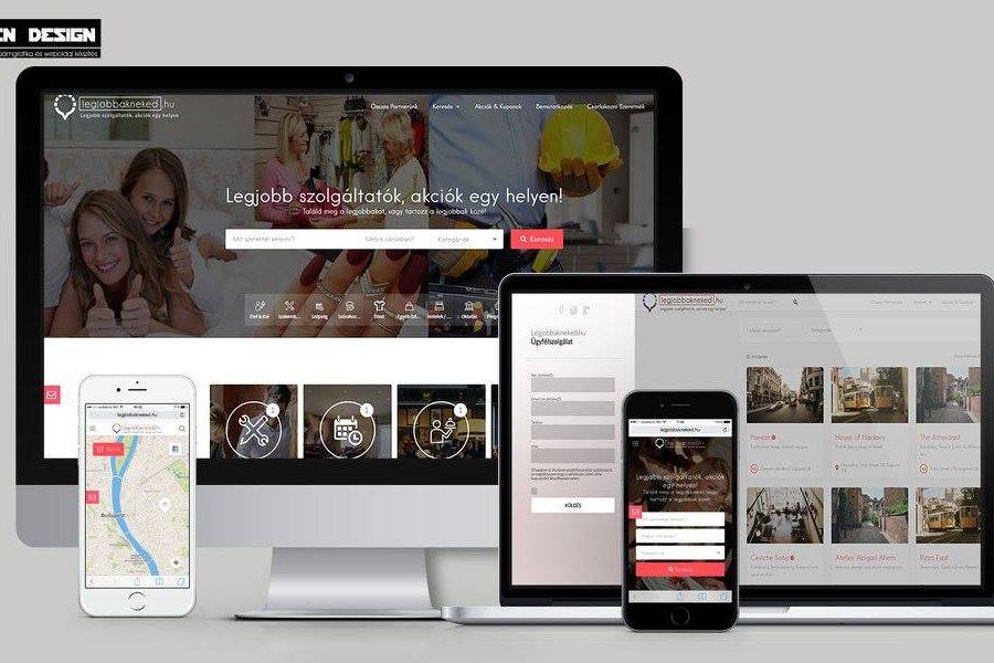 Hirdetési weboldal készítés
