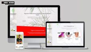 Weboldal készítés - Masszázs szalon