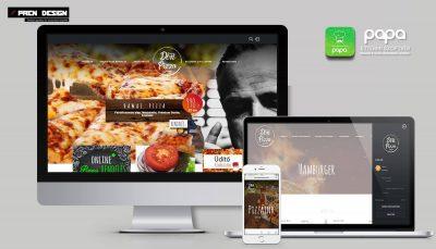 Weboldal készítés pizzéria
