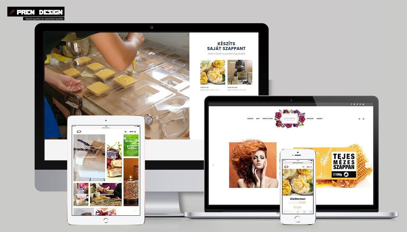 Webáruház készítés kis termékszámmal