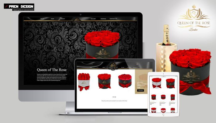 Webáruház készítés – London