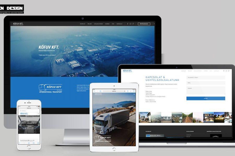Egyedi webdesign készítés – Weboldal készítők