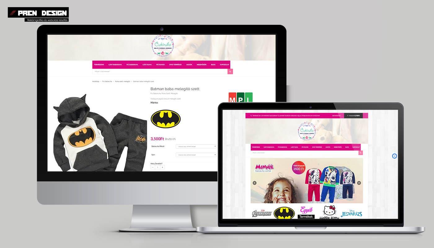 Webáruház készítés – Webshop felújítás
