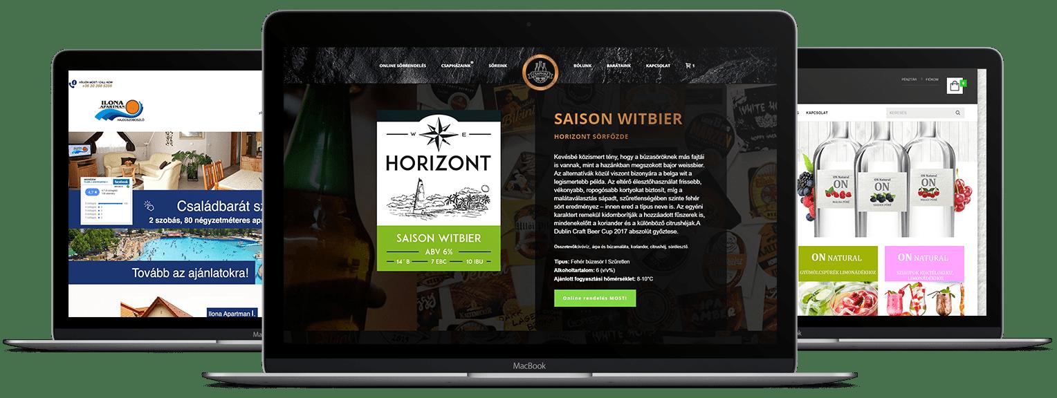 weboldal készítés - Honlap készítés - Pren Design