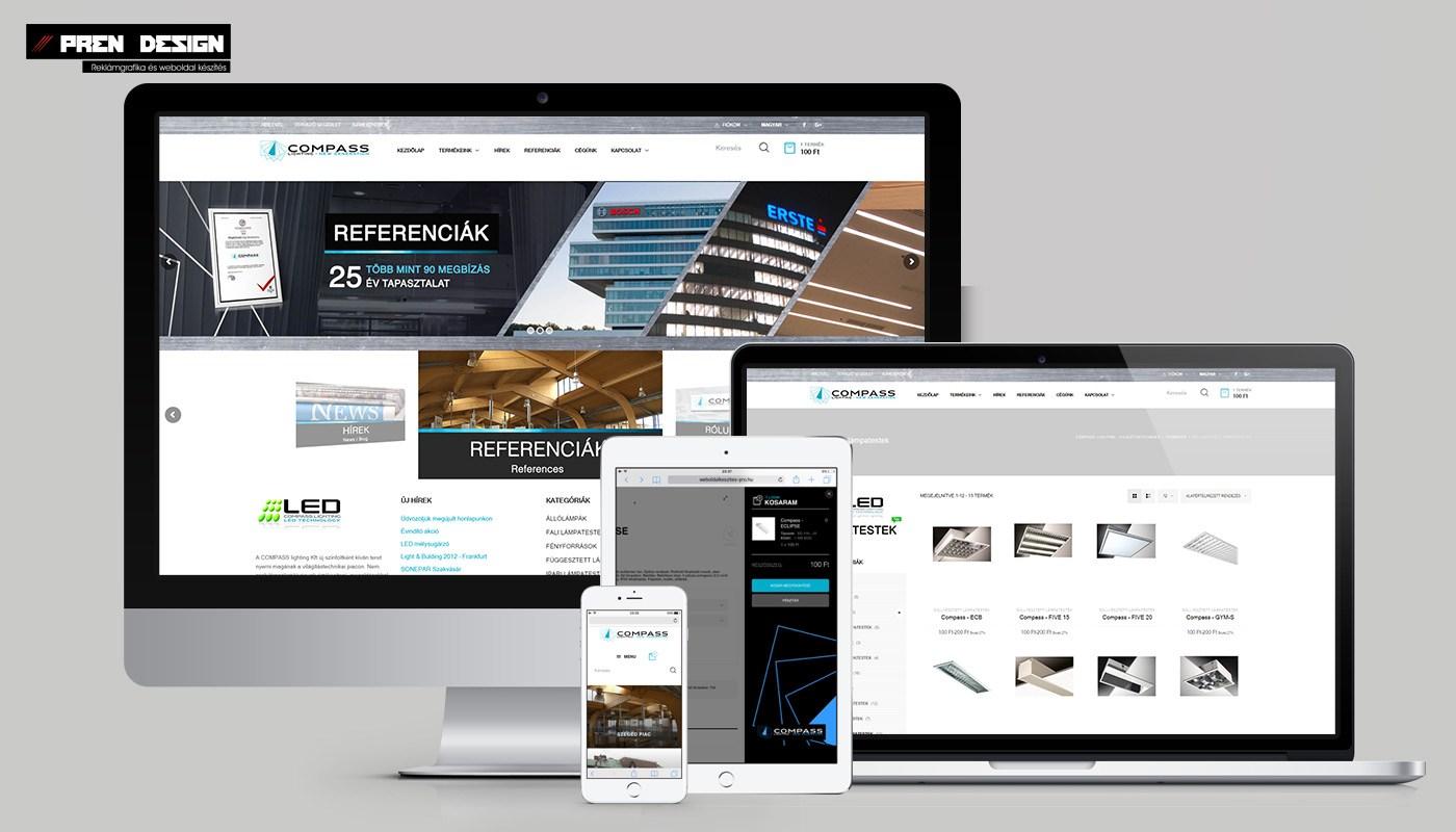 üzleti weboldal készítés