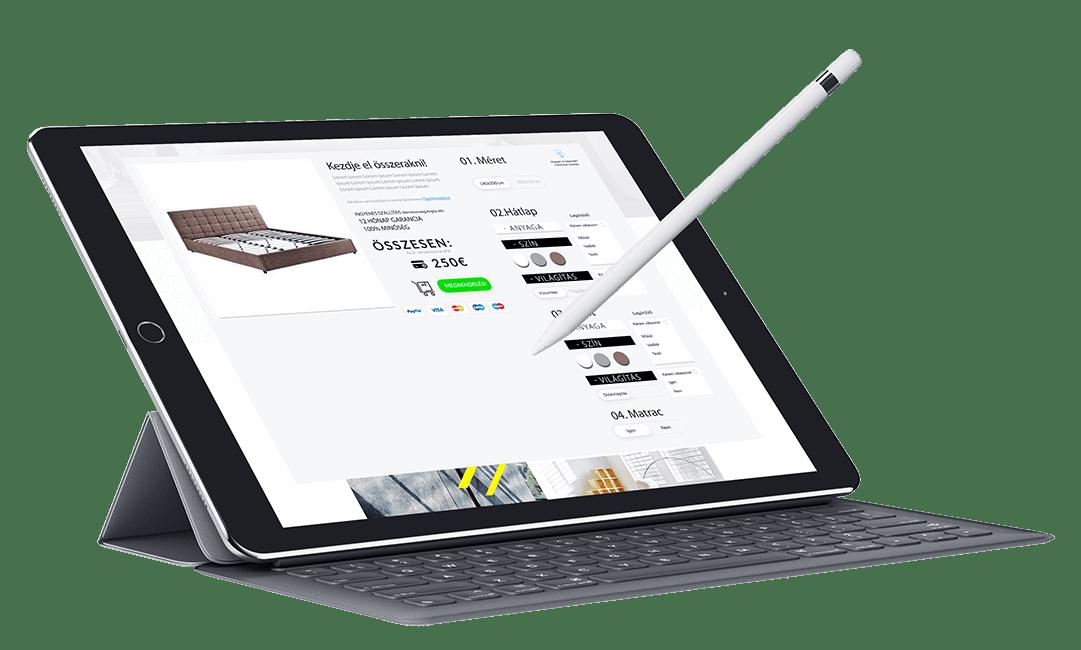 modern webáruház készítés - profi webáruház készítés