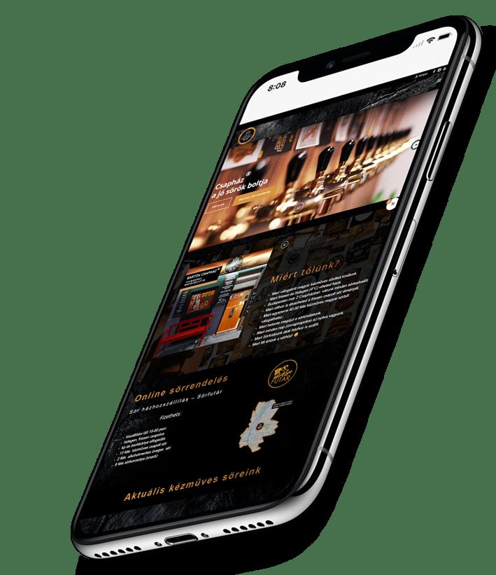 Mobilbarát honlap készítés