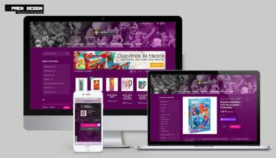játék webáruház készítés