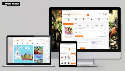 Játék webshop készítés és webshop fejlesztés