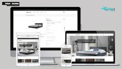 Webáruház készítés – Bútorgyár és bútor áruház