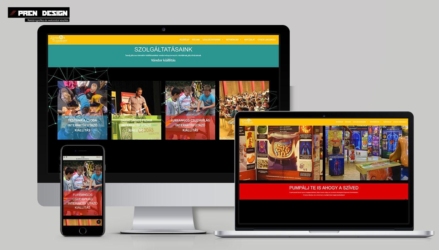 weboldal készítés Esztergom – Honlap készítés