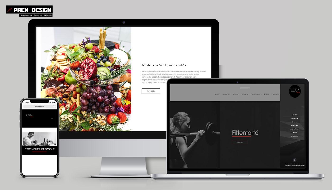 Honlap készítés – Saját üzleti céges weboldal