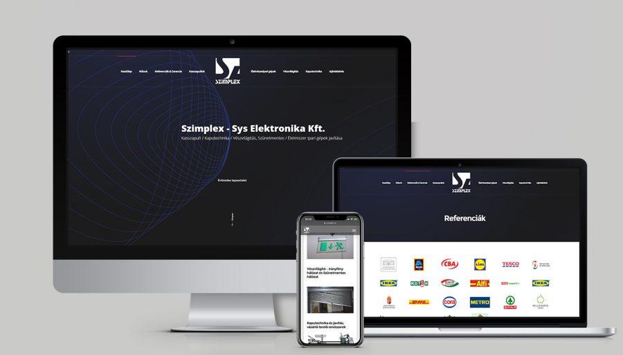GDPR weboldal készítés