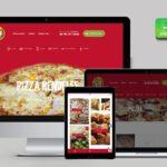 nyíregyháza weboldal készítés - Pizzéria webdesign