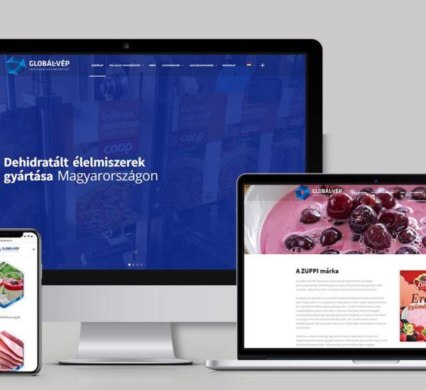 Céges weboldal készítés Gyár