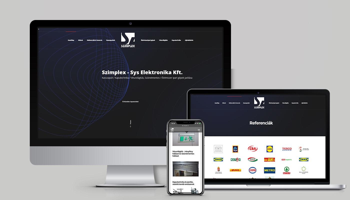 Budaörs weboldal készítés - GDPR céges honlap tervezés