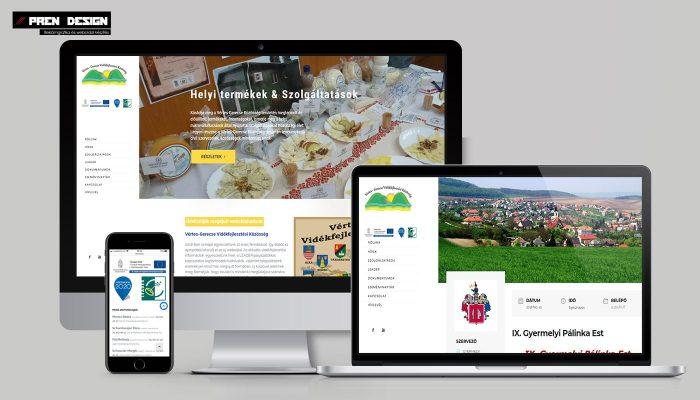 WordPress weboldal készítés – leader egyesület