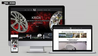 Egyszerű weboldal készítés Keszthely