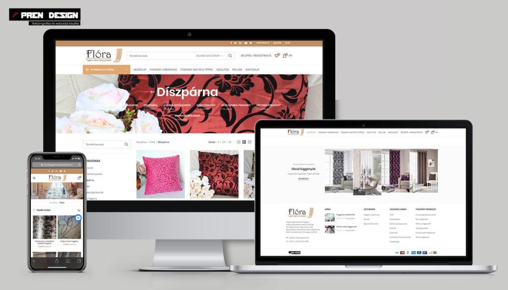 Webáruház készítés Győr