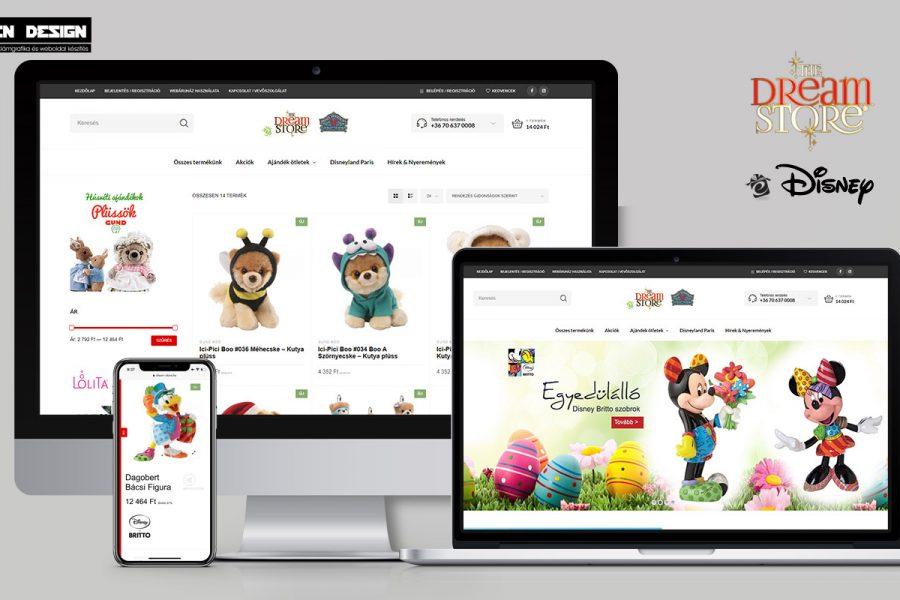 Webáruház készítés Biatorbágy