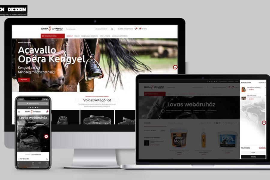 webáruház készítés – Webshop felújítás WordPress Woocommerce