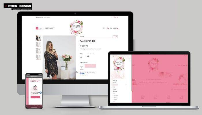 Webáruház készítés Pécs