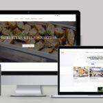 Étterem webdesign - étterem weboldal tervezés